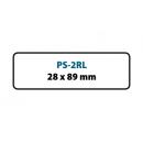PS-2RL Etykiety termoczułe do drukarek Seiko Smart Label (28x89x130)