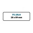 PS-2RLH Etykiety termoczułe do drukarek Seiko Smart Label (28x89x260)