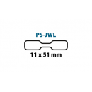 PS-JWL Etykiety jubilerskie do drukarek Seiko Smart Label (11x51x1200)